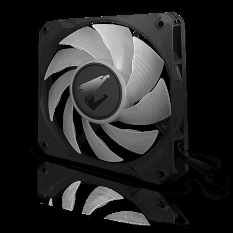 Aorus Rgb Aio Liquid Cooler 360 360mm Radiator Triple 120mm Windforce Pwm Fans Customizable Full Color Lcd Display Advanced Rgb Lighting And Control Intel 115x 2066 Amd Am4 Tr4 Shweta Computers