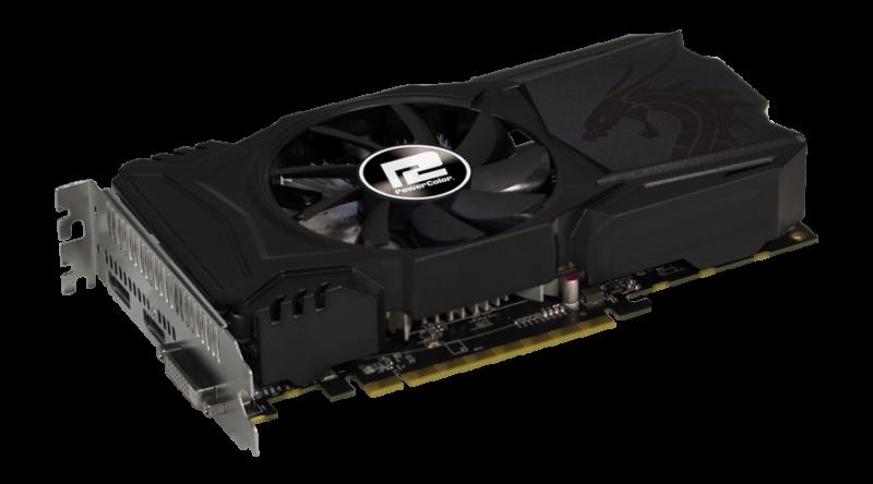 PowerColor Red Dragon Radeon™ RX 550 4GB GDDR5 (AXRX 550 ...